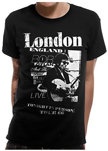 Bob Dylan Live in London T-Shirt SCHWARZ Gr.2XL
