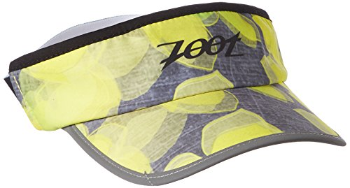 Zoot Stretch Visor, Unisex, Stretch, Lemon Lime, Taglia Unica