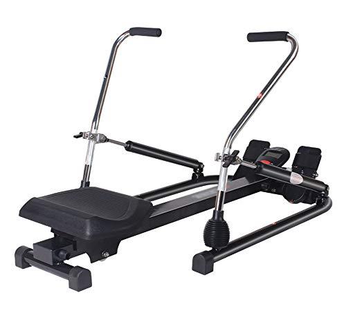 HLLXX Rudergerät klappbar für zuhause, Body Coach Rudergerät, Benutzergewicht bis 150 kg, Sicherheit geprüft, leises Hydraulisch, Heimfitnessgerätestandard Model