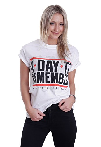 A Day To Remember - Hardcore White - T-Shirt-Medium