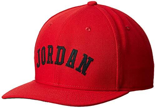 Jordan Herren Air Classic99 Jumpman Visor, Rot (Red Av8441-687), (Herstellergröße: One Size)