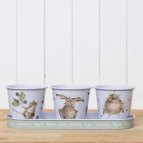 Wrendale trois Pots ? herbes et plateau