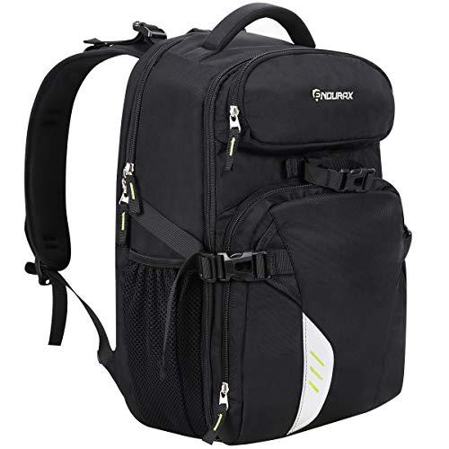 Endurax Mochila para cámara portátil para viajes al aire libre, senderismo, ajuste 2 DSLR / SLR 4-6 lentes mujeres y hombre
