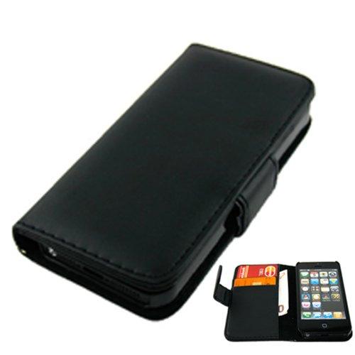 OTB Tasche für iPhone 5 / iPhone 5S Bookstyle schwarz