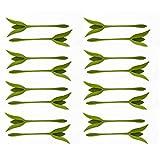 Miliju Serviettenhalter, dekorativ, floral, Serviettenring, originell, faltbar, Tischdeko, Esstisch, 16 Stück