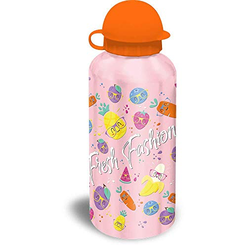 Kids Set Sandwichera Plastico Y Cantimplora Aluminio de Fresh Fashion Bolsa de...