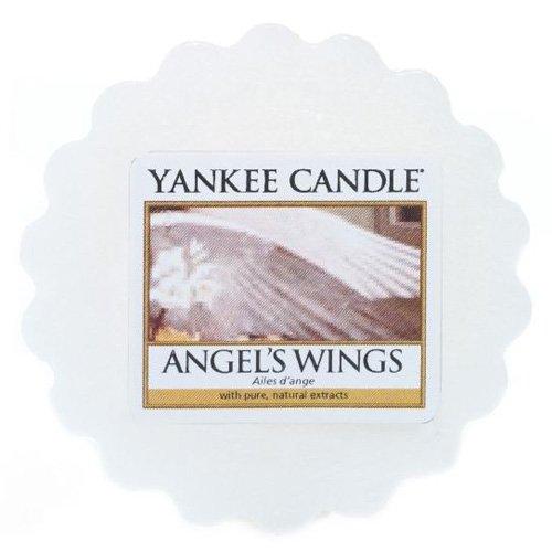 YANKEE CANDLE Angels Wings Tart da Fondere, Cera, White, 6.1x5.7x2 cm
