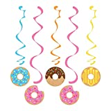 Creative Converting Donut Party Dizzy Danglers, Multisizes, Multicolor