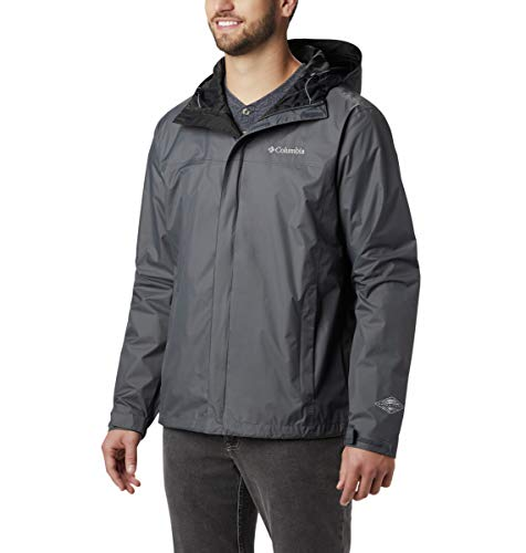 Columbia Men's Watertight II Rain Jacket, Graphite, Medium