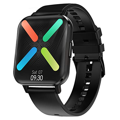 Waterpoof Smart Watch for Android iOS Phones, Full Touchscreen GPS Running Fitness Watches with Heart Rate Blood Pressure SpO2 Monitor