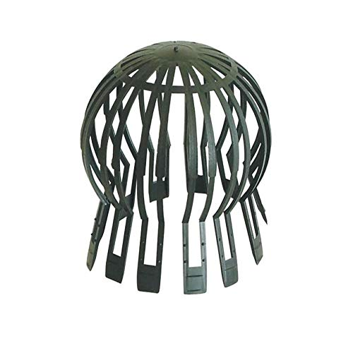 Dakota Protège-feuilles en polypropylène universel, dimensions variables, diamètre 60 – 140 mm, filtre anti-obturation