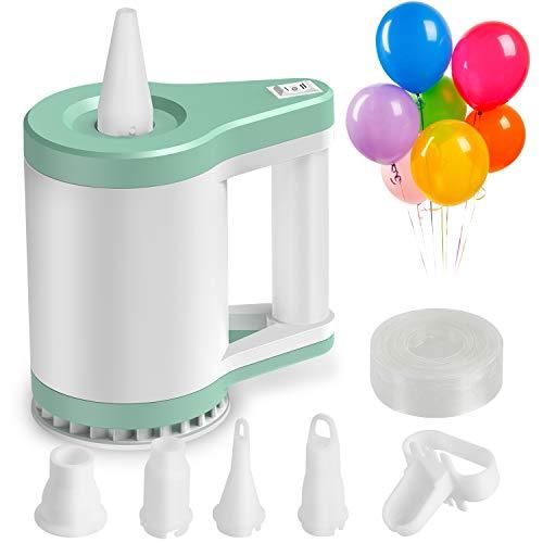 Zacro 3-in-1 Elektrische Luftballonpumpe Ballonpumpe mit 5 Luftdüse für Luftballons, Schwimmringe, Luftmatratzen, Aufpumpen von Vakuumbeuteln für zu Hause