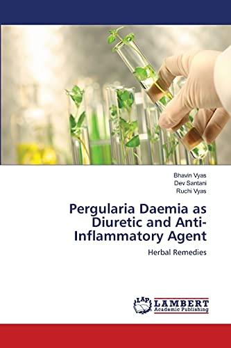 Vyas, B: Pergularia Daemia as Diuretic and Anti-Inflammatory
