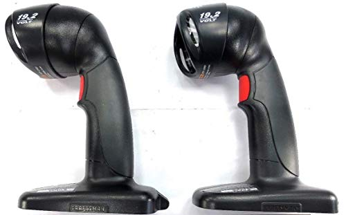 Craftsman C3 19.2 V Volt Pivot Head Cordless Work Light Flashlight - Set of 2 - (Bulk Packaged)