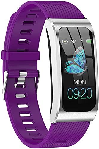Smartwatch Relojes Inteligentes Mujer Hombre Niños Impermeable IP67 Pulsera Actividad Inteligente con Pulsómetro Podómetro Monitor de Sueño Caloría Smart Watch para Android iOS,8