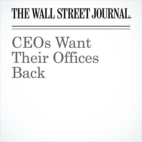 CEOs Want Their Offices Back copertina