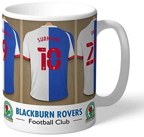 Personalised Blackburn Rovers FC Dressing Room Shirts Mug