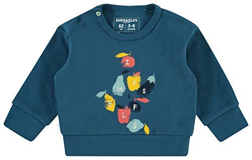 Imps & Elfs B Regular Sweater Ls Boksburg Shirt, Bleu (Majolica Blue P163), 62 Bébé garçon