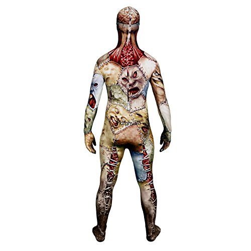Morphsuits - Disfraz monstruo adultos, talla XXL (MPMFL2): Amazon ...