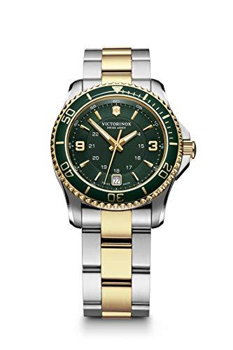 Victorinox Mujer Maverick - Reloj de Pulsera pequeño de Acero Inoxidable Cuarzo analógico de fabricación Suiza 241612