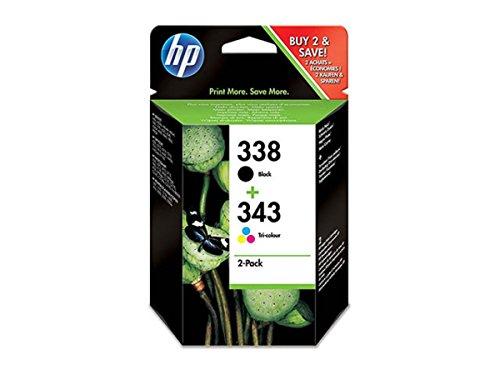 HP - Hewlett Packard DeskJet 6830 (338+343 / SD 449 EE) - Original - Consumer Material (Black, Cyan, Magenta, Yellow)