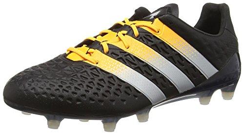 adidas Herren Ace 16.1 FG/AG Fußballschuhe, Schwarz (Core Black/Silver Met./Solar Gold), 39 1/3 EU