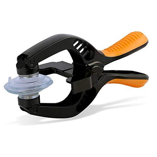 MMOBIEL Schermo Apertura LCD/Pinze Attrezzi Riparazione, Ventosa Compatibile con Tablet e Smartphone Vari (Arancione)