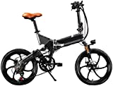 Bicicleta eléctrica de nieve, Ciudad plegable bicicleta eléctrica asistida eléctrica Deporte montaña de la bicicleta con 48v 8AH bicicleta eléctrica con batería de litio extraíble oculto plegable de 7