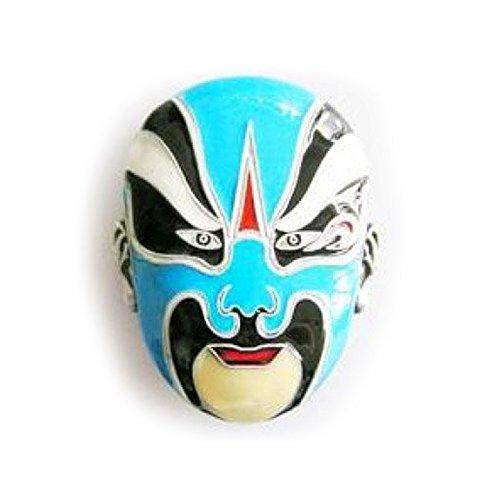 eeddoo® Gürtelschnalle - Wrestler- Maske - Buckle (Buckle für Wechselgürtel für Damen und Herren | Belt Frauen Männer Oldschool Rockabilly Metall Gothic Wave Rock Biker Western Trucker Casino Skull)