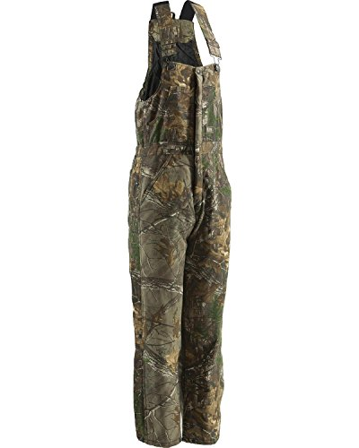 Berne Men's Original Camouflage Insulated Bib, Realtree Xtra, Large/Regular