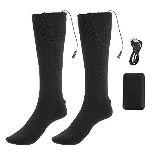 Abaodam 1 juego de calcetines térmicos a la moda para invierno gruesos y cálidos