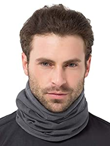 Show Frost Who's Boss: Be ready for anything this winter. With our double-layered neck warmer, even in the harshest winter cold weather doesn't stand a chance. A layer of ToughTech polar fleece locks in the heat while a second microfiber layer wicks ...