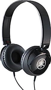 Yamaha HPH-50 Headphones, Quality Sound, Deep Bass and Balanced Treble, Over Ear, Wired Musicians Headphones, in Black