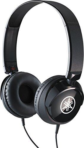 Yamaha HPH-50B Kopfhörer, schwarz – Schlichter On-Ear-Kopfhörer mit hochwertigem Sound – Kompaktes Design passend zu Yamaha Keyboards & Digital Pianos
