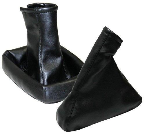 AERZETIX-Dehnfalte Schalthebel Handbremse schwarz für Opel Tigra Twintop 2004-2009