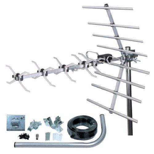 Loft & Outdoor Digital TV Aerial, SLx 27887K4 4G Filtered 32 Element Aerial for Digital TV