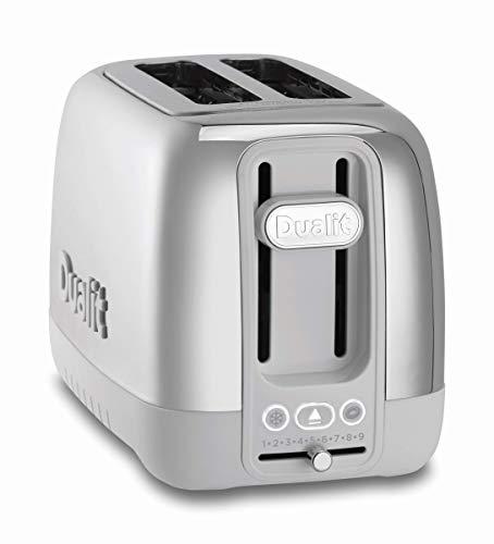 Dualit 26631 Domus 2 slice toaster, Porcelain (Renewed)