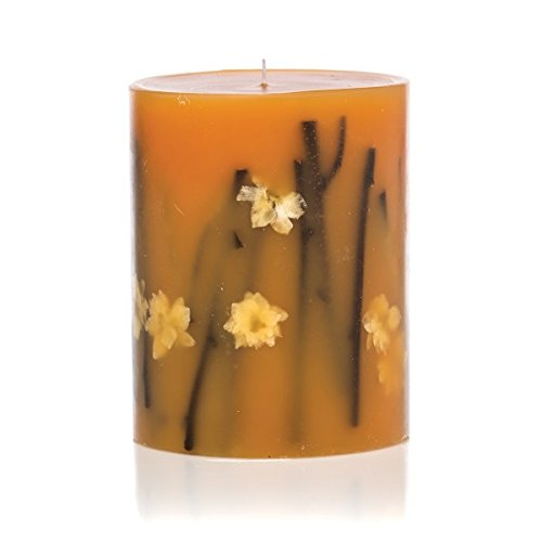 Rosy Rings Honey Tobacco Round Scented Candles, 6.5'