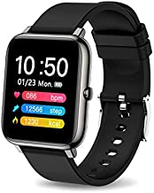 MuGo Smart Watch Fitness Tracker, 1.2 Full Touch Screen Sports Watch with Heart Rate Monitor, Activity Tracker with Sleep Monitor,