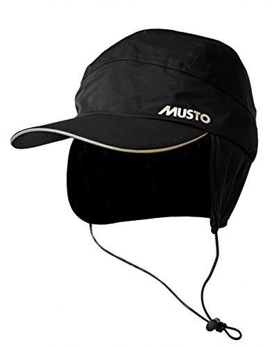 Musto Waterproof Fleece Lined Sailing Cap - Winter Sailing - Black