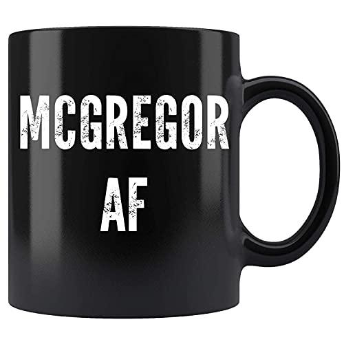 N\A Taza de té de cerámica de la Taza de café de Mcgregor AF