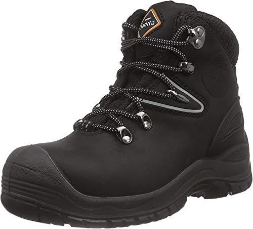 Sanita Workwear San-Safe Colorado Boot, Unisex-Erwachsene Sicherheitsstiefel, Schwarz (Black 2), 40 EU