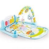 Techhark® Kick and Play Multi-Function ABS High Grade Plastic Piano Baby Gym