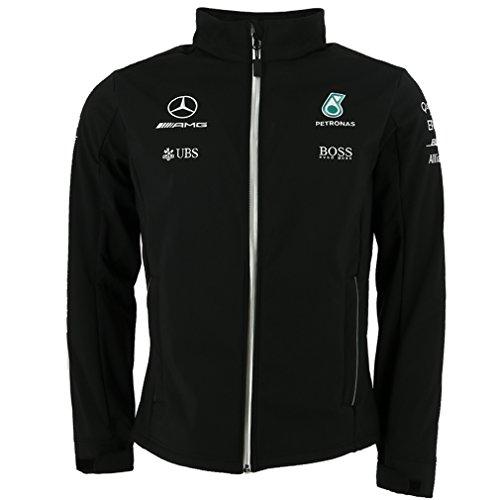 Mercedes AMG Petronas F1 Softshell Jacket 2017 S