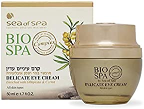 Delicate eye cream, enriched with Oblepicha & Carrot, smoothes the skin and slows down the aging process. Pleasant to the touch and easily absorbed. For all skin types.