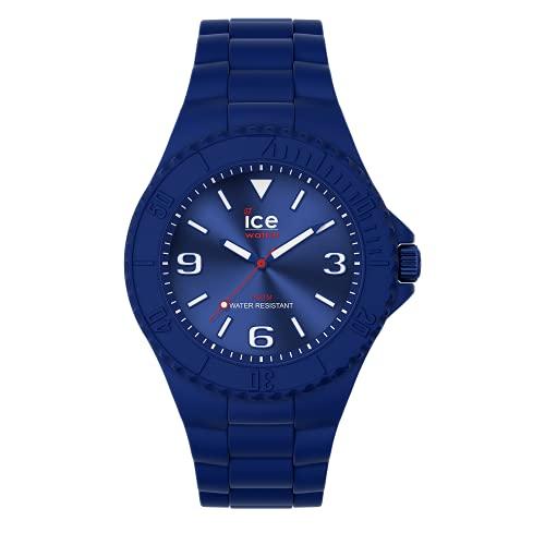 ICE-WATCH ICE Generation Blue Red - Reloj Azul para Hombre con Correa de Silicona, 019158 (Medium)