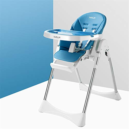 Great Deal! Highchairs Portable Kids Dinner Chair With Tray Feeding Plate Table Baby Booster Seat Hi...