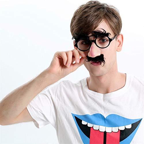 Gafas divertidas de nariz grande, suministros creativos interesantes para fiestas, fiestas de disfraces de Halloween para hombres y mujeres, accesorios para bares