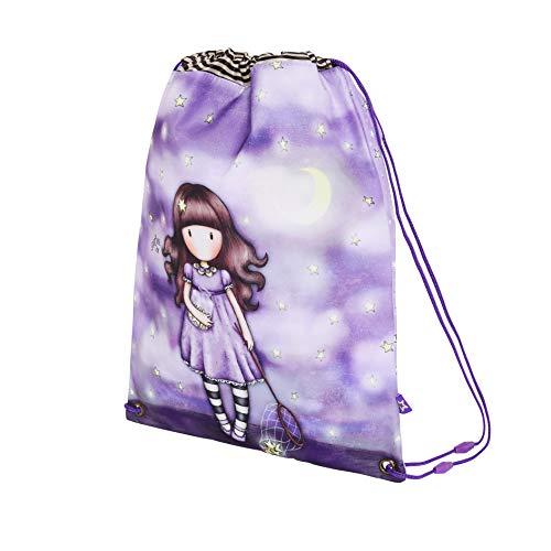 Santoro M196b, sacco piatto, unisex, per bambini, 340 x 450 x 10 mm Viola Size: 340x450x10 mm