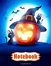 Halloween Notebook for Kids, Teens & Adults: Halloween Notebook Journal Funny Scary, With Glossy Cover| Paper, Wide-Ruled ...